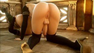 【Awesome-Anime.com】 3D Anime – Shemale in magic bondage